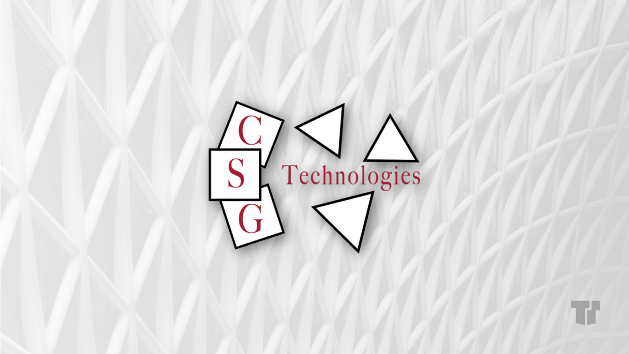 CSG Technologies cover image