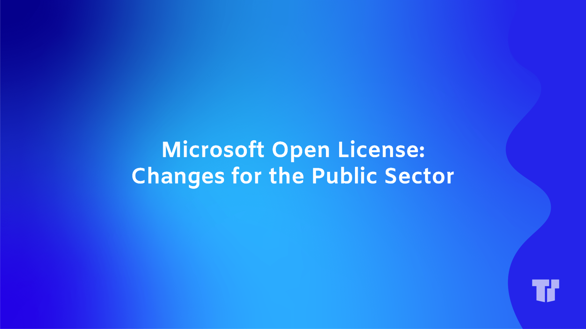 Microsoft Open License: Changes for the Public Sector cover image