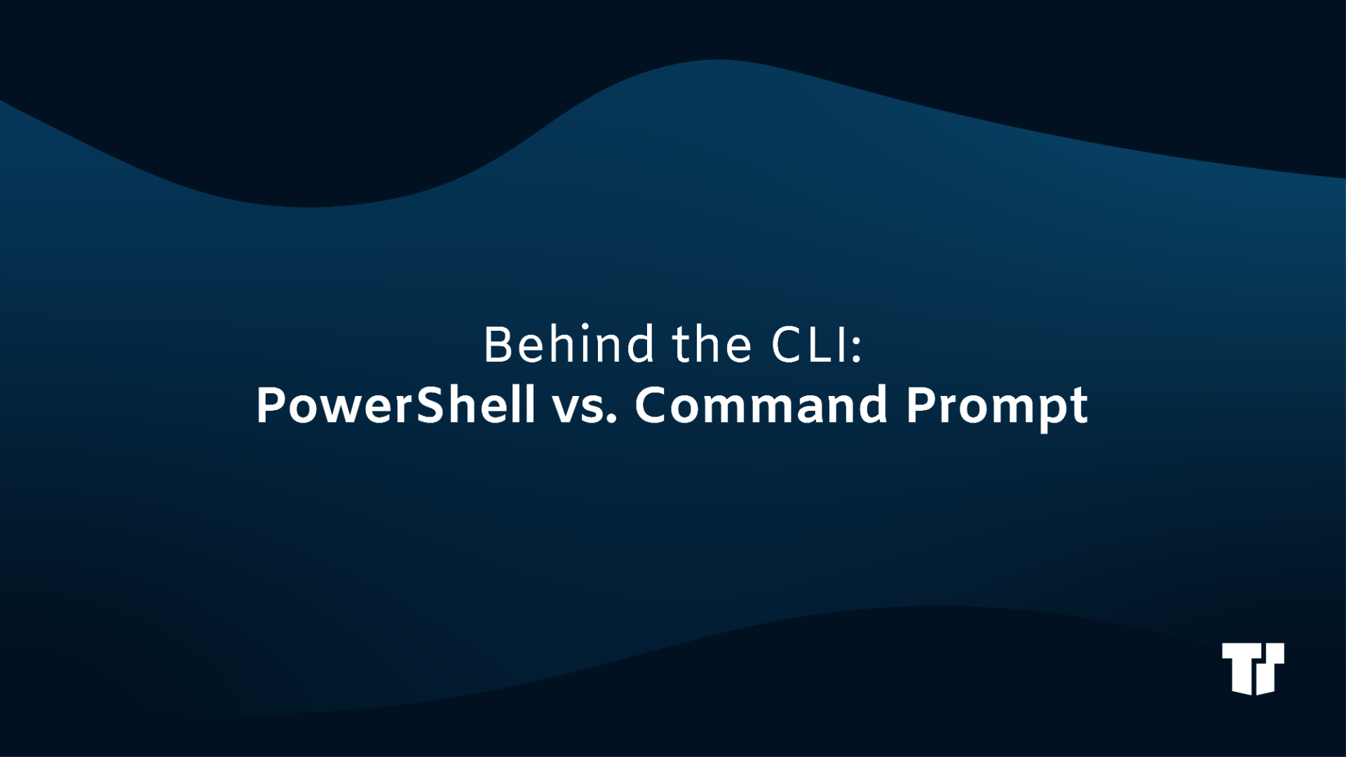 Behind the CLI: PowerShell vs. Command Prompt cover image
