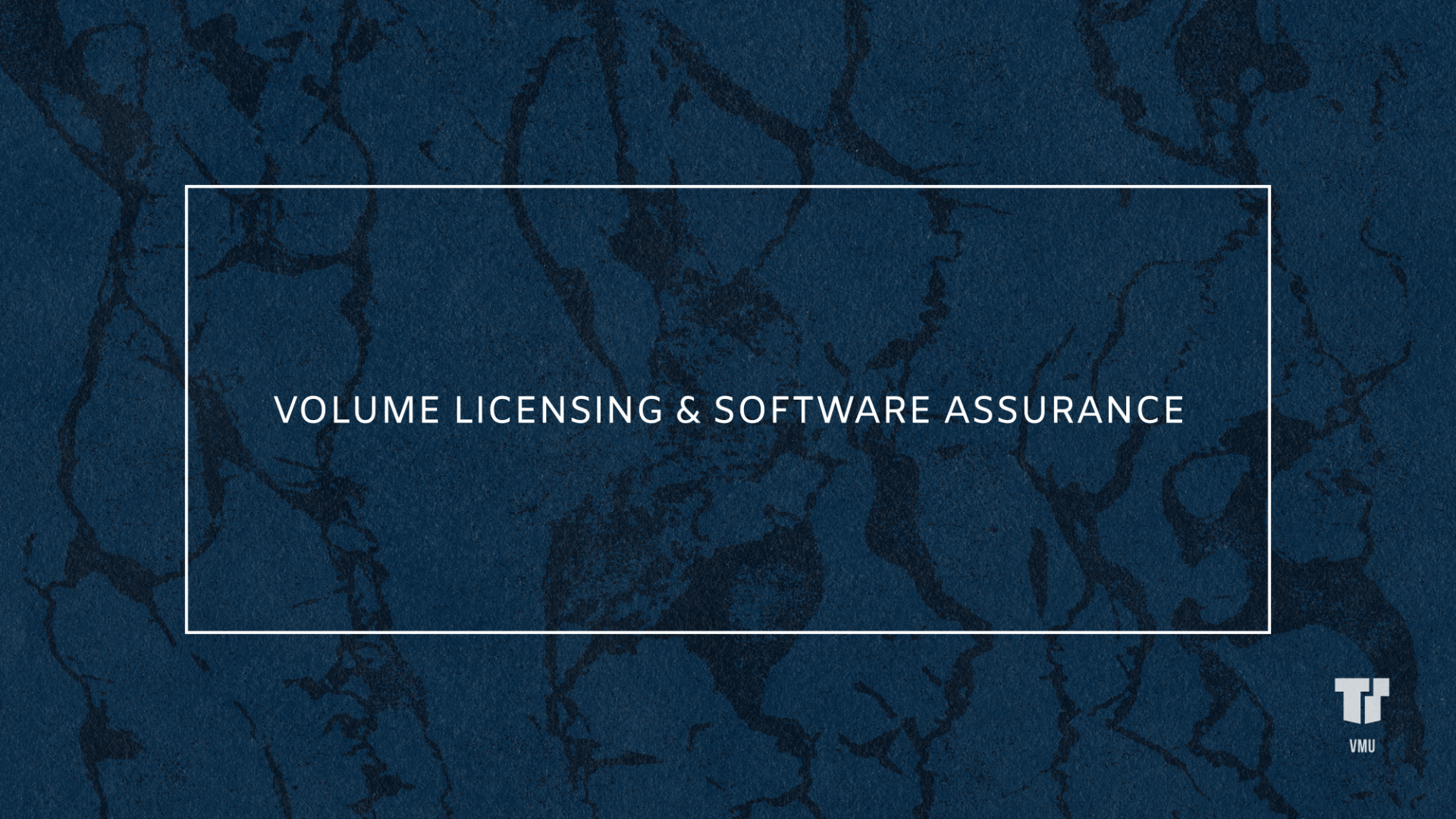Volume Licensing & Software Assurance cover image