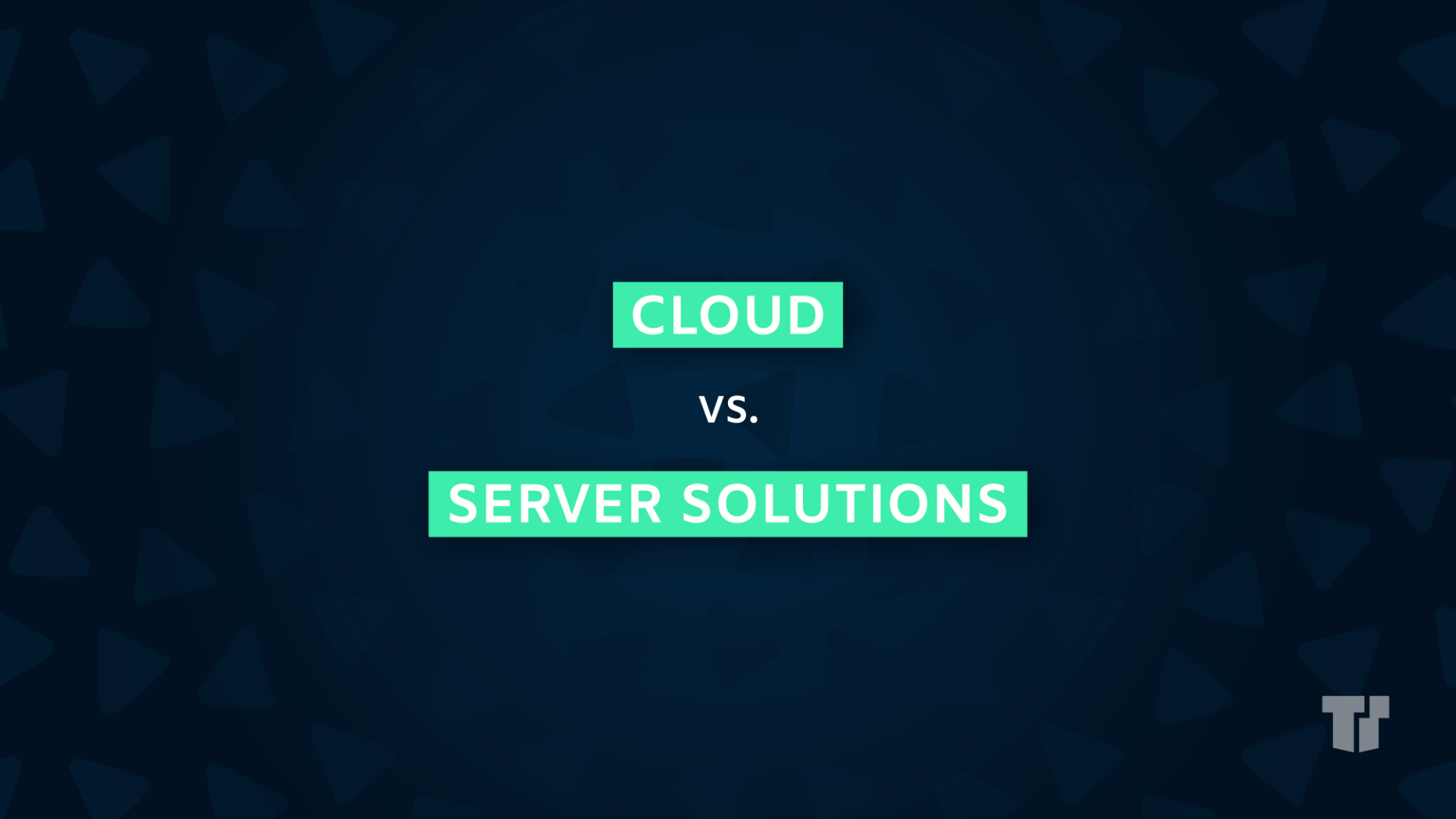 Cloud vs. Server Solutions cover image