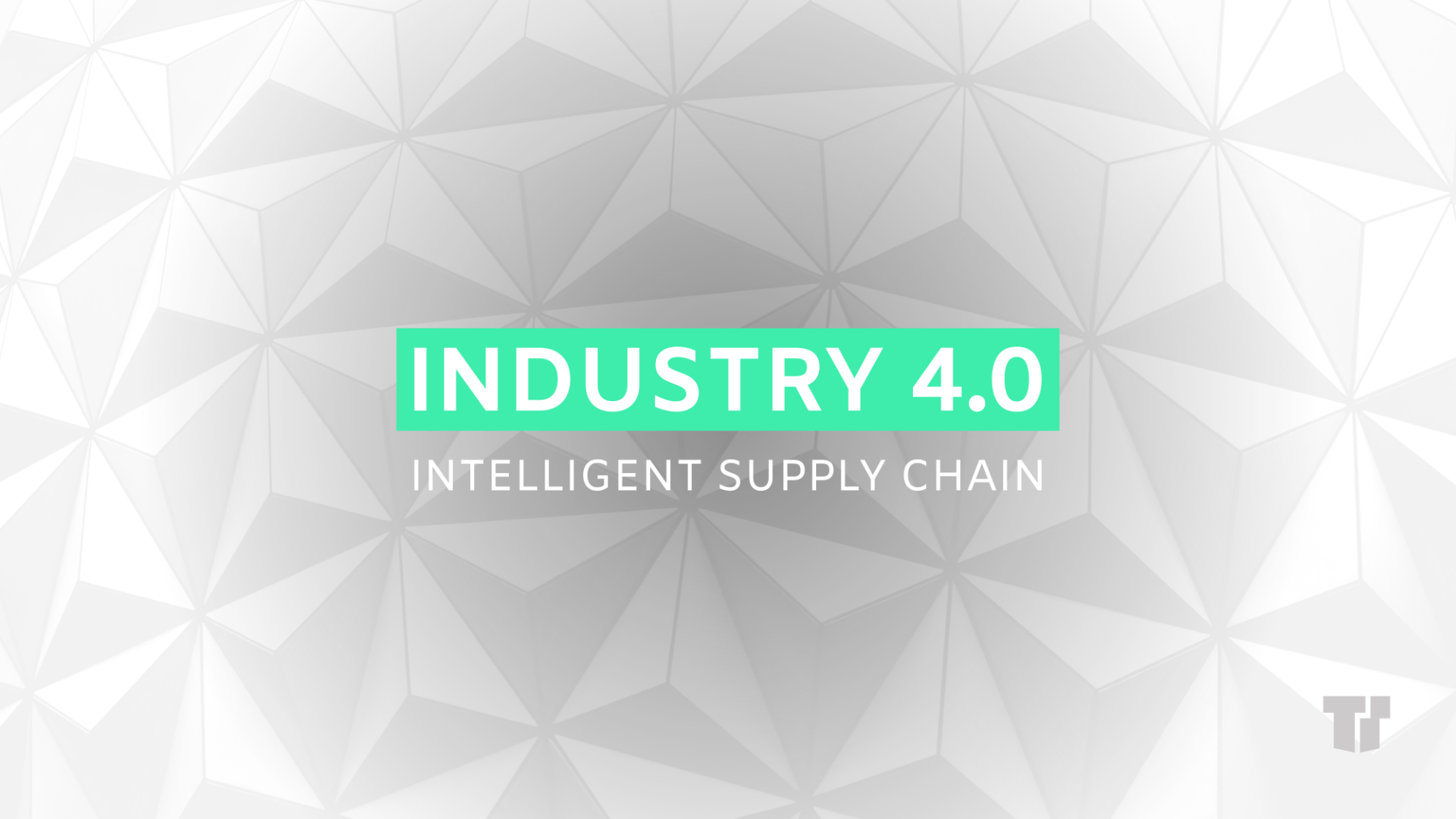 Industry 4.0 – Intelligent Supply Chain cover image