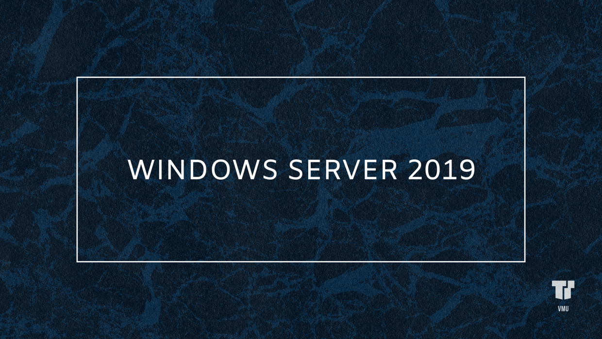 Windows Server 2019 cover image