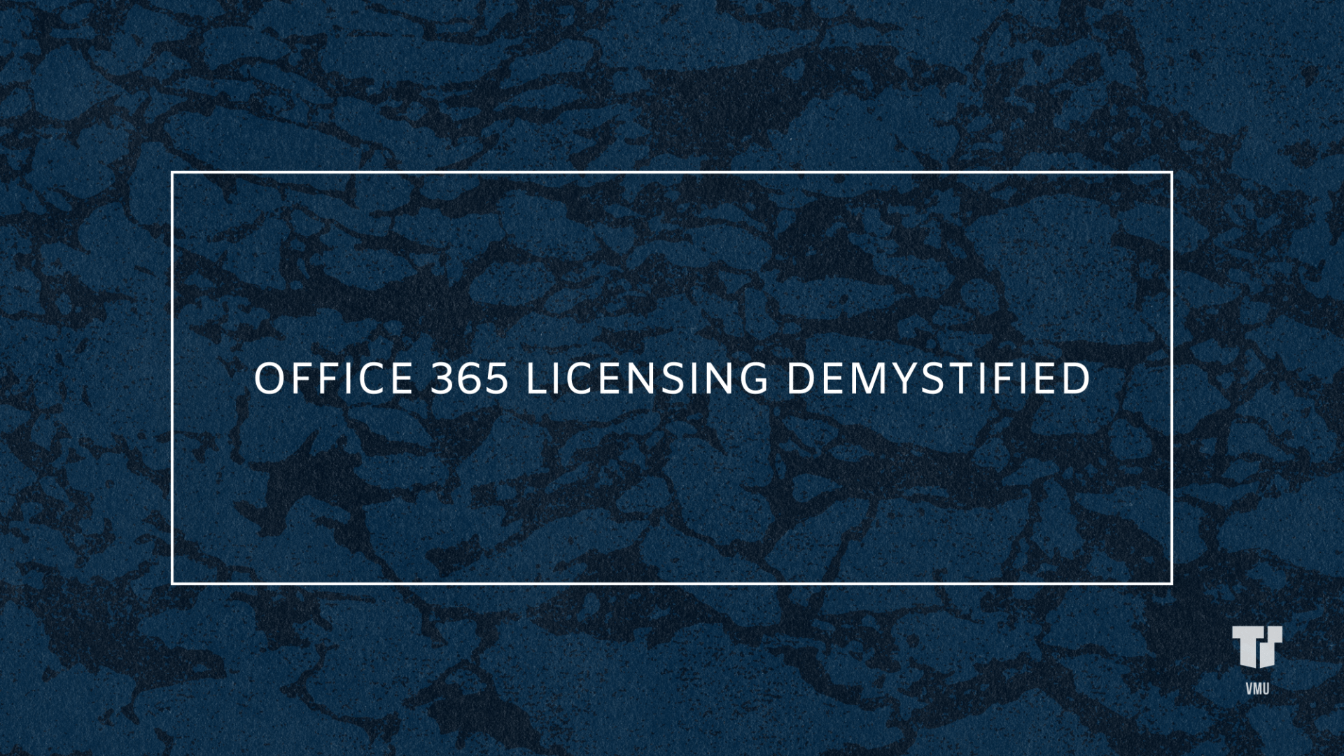 Office 365 Licensing Demystified cover image