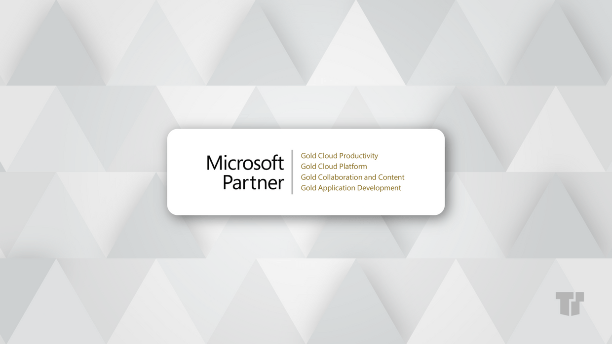 TTT is now a Microsoft Gold Small & Midmarket Partner cover image